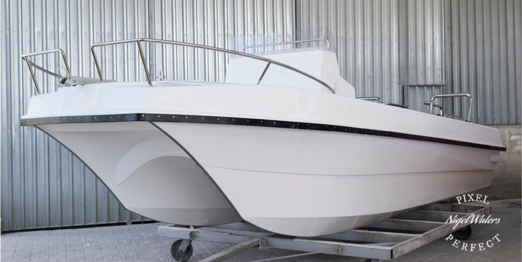 Econo 6.6 meter, butt cat, center console, game fisher